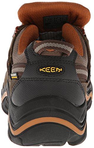 Keen Durand Low Wp M, Chaussures de trekking et randonnée homme Marron - Braun (CASCADE BROWN/GLAZED GI)