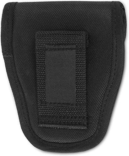Security Handschellen Holster Tasche, gepolstert mit Klettverschluss Schwarz