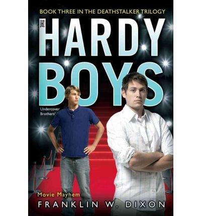 -movie-mayhem-hardy-boys-undercover-brothers-aladdin-39-bydixon-franklin-w-authorpaperback