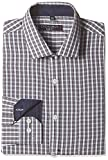Excalibur Men's Formal Shirt (8907542612963_400016543810_40_Grey)