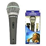 Samson Q6 Microphone dynamique super cardioïde Noir