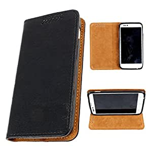 i-KitPit PU Leather Flip Case For Micromax Canvas Viva A72 (BLACK)