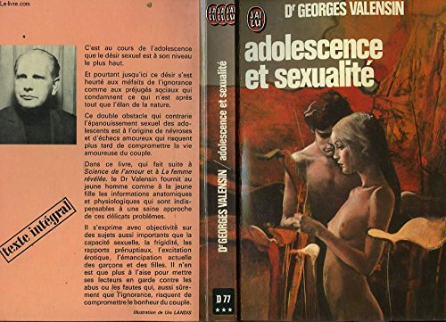 Adolescence et sexualite