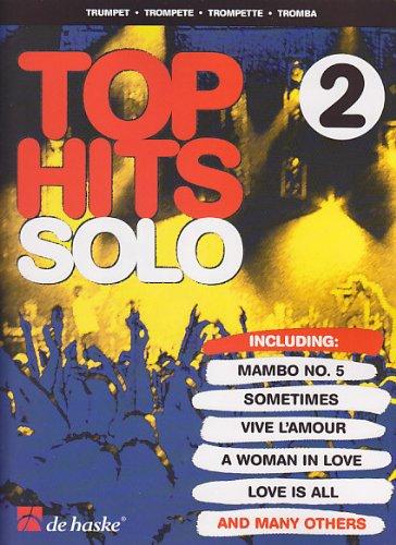 DEHASKE TOP HITS SOLO 2 - TRUMPET Noten Pop, Rock, .... Blasinstrumente