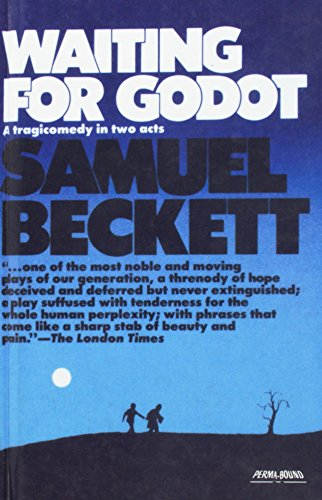 Book cover for Waiting for Godot