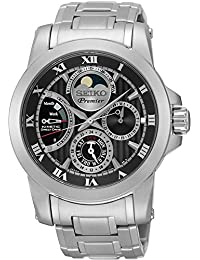 Seiko reloj hombre Premier Kinetic SRX013P1