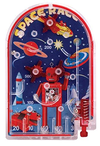 ROBOT SPACERACE CLASSIC PINBALL GAME