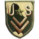 Parches - U.S. ARMY - colorido - 5.5x7.5cm - termoadhesivos bordados aplique para ropa
