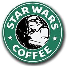 STARBUCKS/STAR WARS café vinilo adhesivo para patinetes Scooters telefono