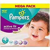 Pampers active Fit Taille 4 Maxi 7-18kg (76) - Paquet de 2