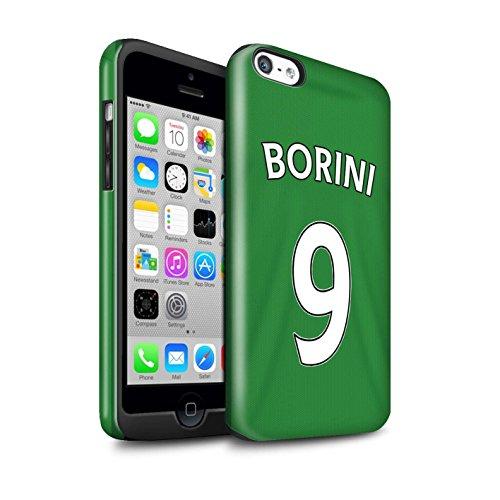 Offiziell Sunderland AFC Hülle / Glanz Harten Stoßfest Case für Apple iPhone 5C / Pack 24pcs Muster / SAFC Trikot Away 15/16 Kollektion Borini