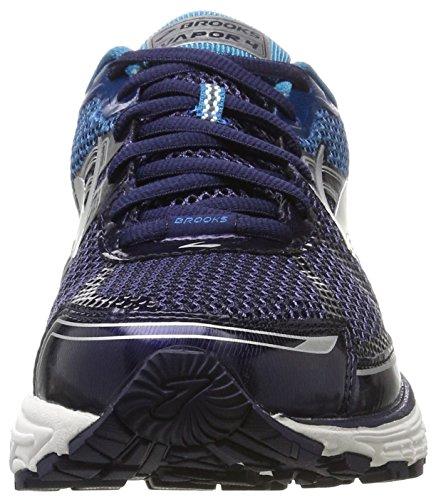 Brooks Vapor 4, Chaussures de Course Homme Noir (Black/evening Blue/turkish Tile)