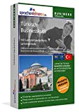 Türkisch-Businesskurs mit Langzeitgedächtnis-Lernmethode von Sprachenlernen24: Lernstufen B2+C1. Türkisch lernen für den Beruf. Software PC CD-ROM für Windows 10,8,7,Vista,XP/Linux/Mac OS X