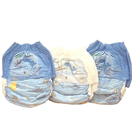 Schwimmwindel Schwimmhöschen Badewindeln Baby Einweg Schwimmwindeln Junge Mädchen HilKeys12-48 Stück (M (6-11kg), 12 Stück)