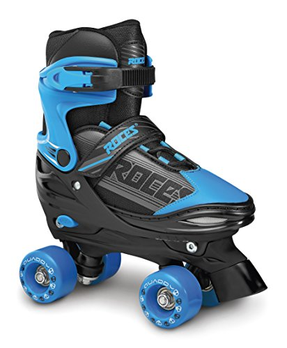 Roces QUADDY Boy Skateboard, Bimbo, Negro/Azul, 34-37
