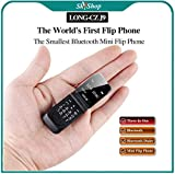 Long-CZ-J9 SKYSHOP World's Smallest Flip Mini Keypad Cell Mobile Phone Support Bluetooth Dialer