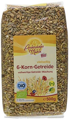 Antersdorfer Mühle 6-Korn-Getreide, 6er Pack (6 x 500 g) - Bio