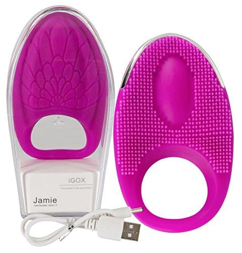 Auflegevibrator »Jamie« lila