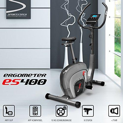 Sportstech ES400 Heimtrainer – APP Steuerung - 2