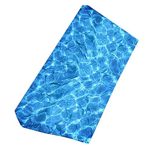 Ieuumler asciugamano da spiaggia in microfibra teli mare per palestra, nuoto, viaggi, spiaggia 150x75cm ie069 (08)