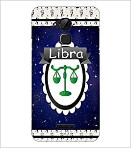 PrintDhaba Zodiac Libra D-2762 Back Case Cover for COOLPAD NOTE 3 LITE (Multi-Coloured)