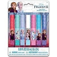 My Party Suppliers Disney Frozen 2 Lip Gloss Set 7 Pack / Disney Frozen elsa Flavoured Lip Gloss