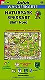 Fritsch Karten, Nr.98, Naturpark Spessart, Blatt Nord (Fritsch Wanderkarten 1:50000) -