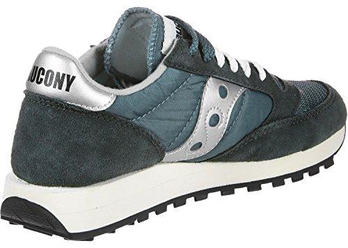 Saucony Jazz Original Vintage, Sneaker Unisex – Adulto Blu (Nvy/Sil 4)