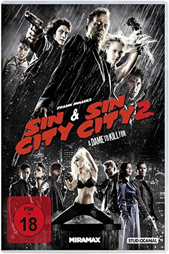 Sin City & Sin City 2: A Dame to Kill For [2 DVDs] (Für Dvd Sin Kill To City Dame)