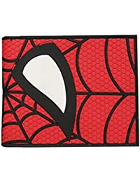 Cartera Billetera de Spiderman Logo Marvel Rojo