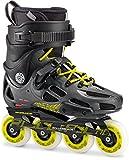 Rollerblade Inlineskate Twister 80LE anthrazit/Limette 230