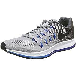official photos 2d299 cc0aa Nike Air Zoom Pegasus 33 - Zapatillas de running para hombre, color gris  (wolf