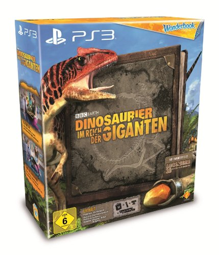 Dinosaurier - Im Reich der Giganten Bundle (Spiel inkl. Wonderbook, Move - Motion - Controller & Camera) - [PlayStation 3] (Move Playstation 3 Bundle)