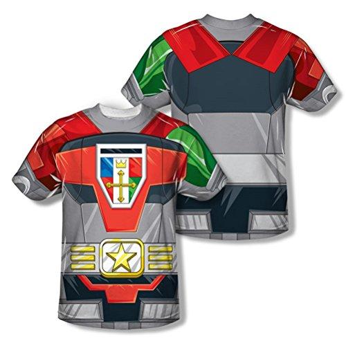 Voltron Defender of the Univese Erwachsene Sublimation Kostüm T-Shirt (Force Kostüme Voltron)