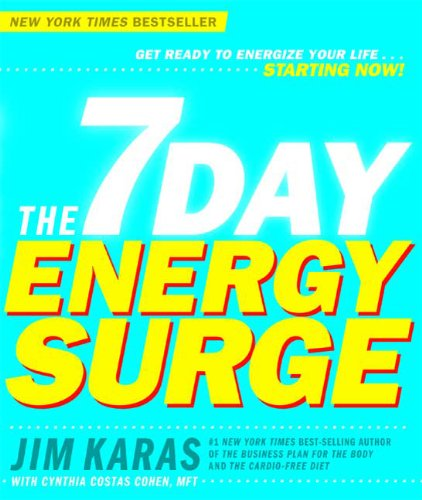 The 7 Day Energy Surge por Jim Karas