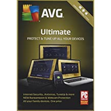 AVG Ultimate 2018 - 2 Year Unlimited Devices (PC/Mac/Android)