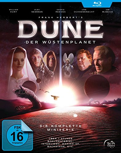 Dune: Der Wüstenplanet - Der komplette TV-Mehrteiler (Extended HD-Version + 180 Min. Extras) [2 Blu-ray]