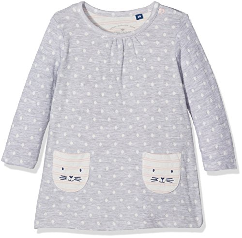 TOM TAILOR Kids Baby-Mädchen Kleid 50198830021, Grau (Light...