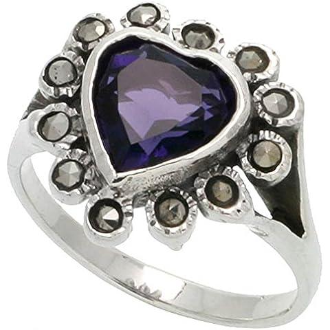 Revoni-Anello a forma di cuore in argento