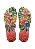 Havaianas Damen Flip Flops Slim Tropical Grösse 41/42 EU ( 39/40 Brazilian) Light Gelb Zehentrenner für Frauen