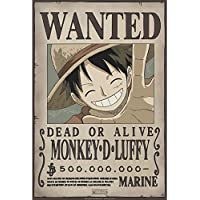 ABYstyle Abysse Corp _ Abydco427One Piece–Poster Wanted Luffy Neuf (52x 35)