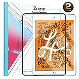 Ztotop 2 Stück, Panzerglas Schutzfolie kompatibel mit New iPad Mini 5th 2019/ Mini 4,Displayschutzfolie für iPad Mini 5 7.9 Zoll [Einbaurahmen][HD Kristallklar Blasenfrei Kratzfest Anti Fingerprint]