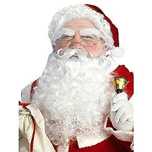 WIDMANN Peluca con Barba Papa Noel Adulto