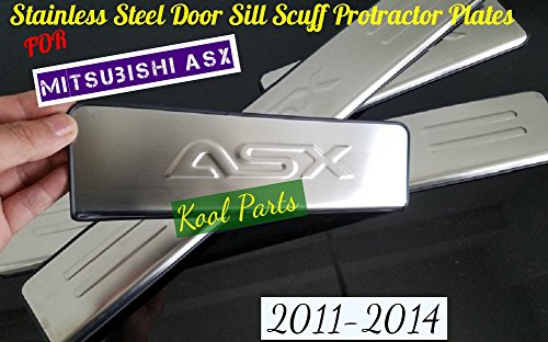 kool-parts-mitsubishi-asx-stainless-steel-door-sill-scuff-protractor-plates-for-2011-2012-2013-2014