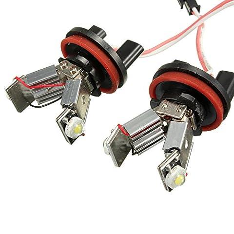EX1 Auto Voiture LED Lumière Yeux d'ange H8 6W pour