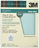 3M Pro-Pak Sandpaper Paint and Varnish Removal, P180C-grit, 9-Inch by 11-Inch