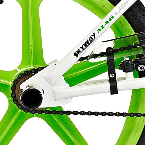 Rooster Big Daddy Spoke Mag Wheeled BMX Bike – White/Green