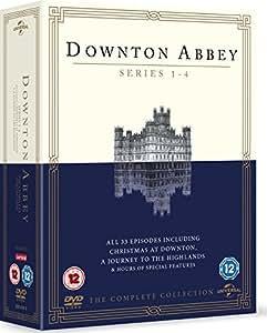 Downton Abbey - Series 1-4 [DVD] [2013]