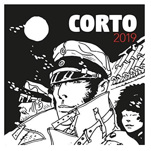 Moulinsart 2019 Wall Calendar Corto Maltese 30x30cm (24402)