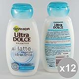 Set 12Ultra Dolce Shampoo 250Milch pflanzlicher Produkte für Haar